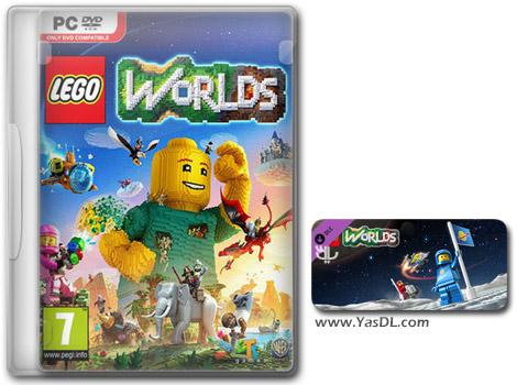 دانلود بازی LEGO Worlds Classic Space Pack برای PC