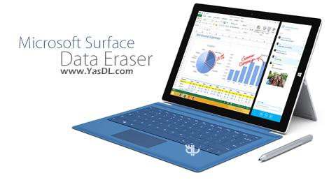 دانلود Microsoft Surface Data Eraser 3.2.36 - حذف کامل اطلاعات از تبلت های سرفیس