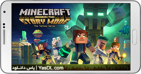 دانلود بازی Minecraft Story Mode Season Two 1.01 - ماین کرافت نسخه داستانی: فصل دوم برای اندروید + دیتا