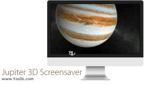 دانلود Solar System – Jupiter 3D Screensaver 1.0.10 – اسکرین سیور سیاره مشتری برای ویندوز