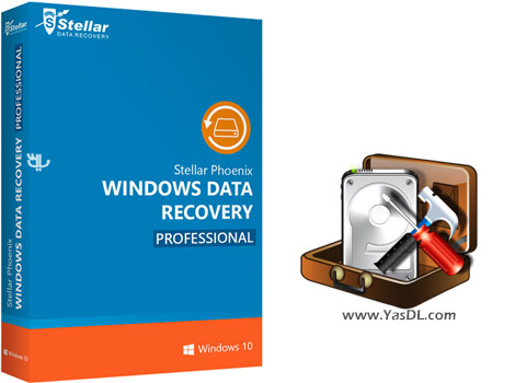 دانلود Stellar Phoenix Windows Data Recovery Professional 7.0.0.2 + Portable - بازیابی اطلاعات