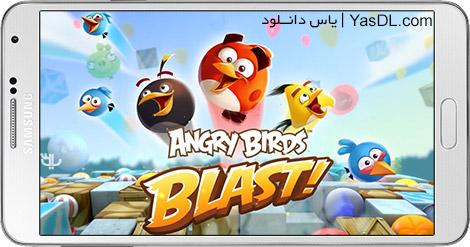 دانلود بازی Angry Birds Blast 1.4.3 - انفجار پرندگان خشمگین برای اندروید + پول بی نهایت