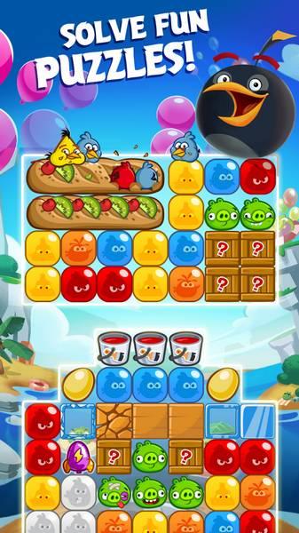 دانلود بازی پرندگان ماهیگیر با پول بی نهایت دانلود بازی Angry Birds Blast 1.4.3 - انفجار پرندگان ...