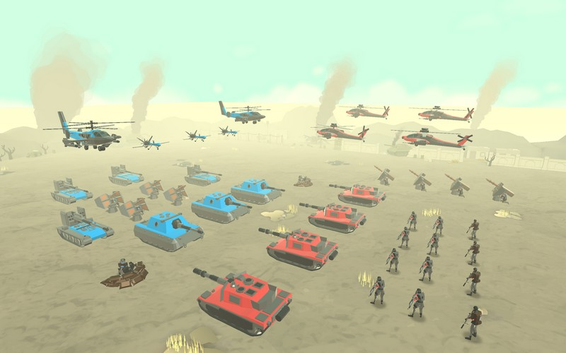 Army Battle Simulator 1.2.27 - Army Battle Simulation For Android + Infinite Money