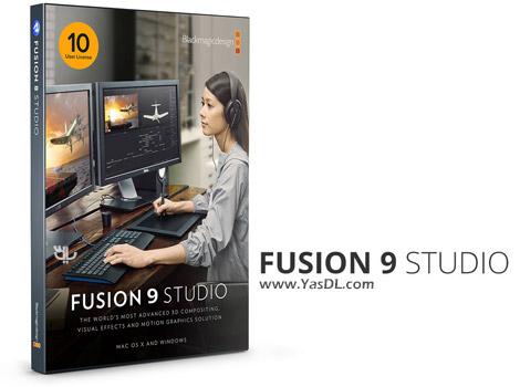 دانلود Blackmagic Design Fusion Studio 17.1.1.10 - ویرایش حرفه ای فیلم