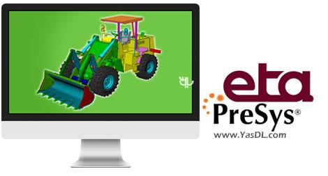 دانلود ETA Inventium PreSys NISA 2017 R1 x64 - مدل سازی المان محدود