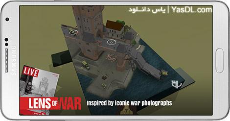 دانلود بازی Lens of War 1.0.0 - عکاس جنگی برای اندروید + دیتا