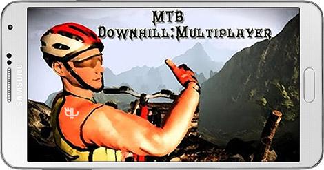 دانلود بازی MTB DownHill Multiplayer 1.0.12 - دوچرخه سواری کوهستان برای اندروید + پول بی نهایت