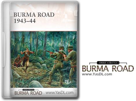 دانلود بازی Order of Battle Burma Road برای PC