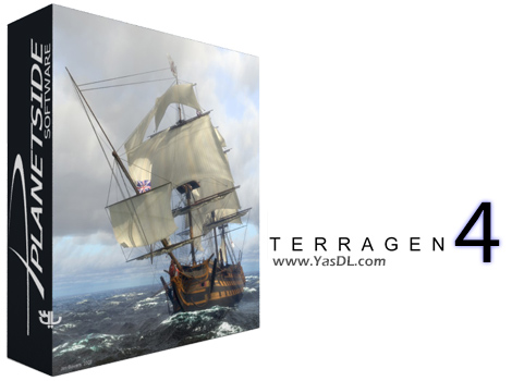 دانلود Planetside Terragen Professional 4.1.11 x64 + Portable - طراحی محیط های طبیعی