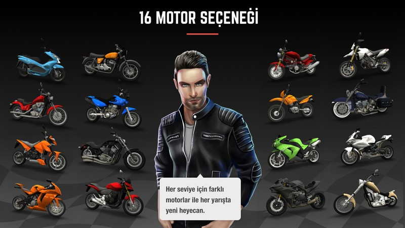 Racing Fever Moto 1.74.0 Motorcycles For Android + Infinity Edition
