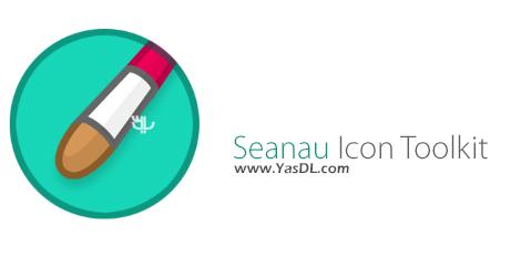 دانلود Seanau Icon Toolkit 8.3.1.1 - نرم افزار ساخت و ویرایش آیکون