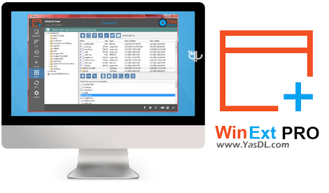 دانلود TriSun Software WinExt Pro 4.0 Build 029 - سازماندهی فایل ها و فولدرها در ویندوز