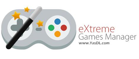 دانلود eXtreme Games Manager 1.0.4.4 - نرم افزار مدیریت بازی ها