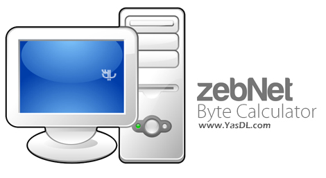 دانلود zebNet Byte Calculator 6.1.0.0 + Portable - نرم افزار تبدیل واحدهای کامپیوتری