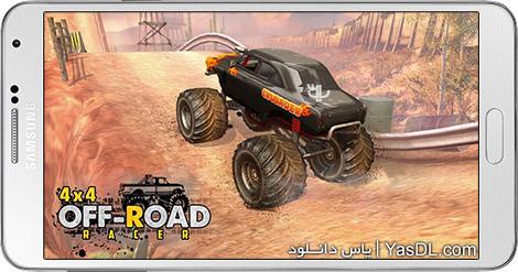 دانلود بازی 4X4 OffRoad Racer - Racing Games 1.1 - مسابقات آفرود برای اندروید + پول بی نهایت