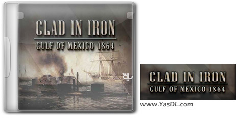 دانلود بازی Clad in Iron Gulf of Mexico 1864 برای PC