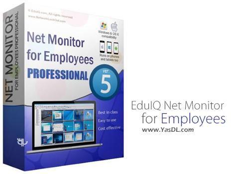 دانلود EduIQ Net Monitor for Employees Professional 5.5.1 - نظارت بر سیستم های شبکه