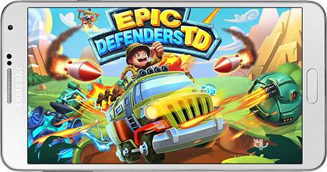 دانلود بازی Epic Defenders TD 1.9.3035 - مدافعان حماسی برای اندروید