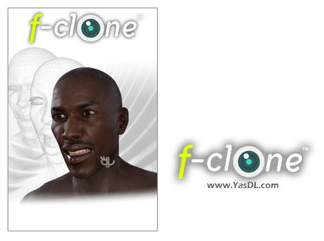دانلود F-Clone Facial Motion Capture 1.12 - نرم افزار ضبط سه بعدی حرکات صورت