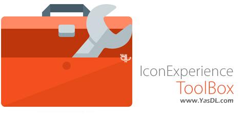 دانلود IconExperience ToolBox 9.1 + Portable - نرم افزار ساخت و ویرایش آیکون