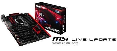 دانلود MSI Live Update 6.2.0.20 - آپدیت بایوس مادربردهای ام اس آی
