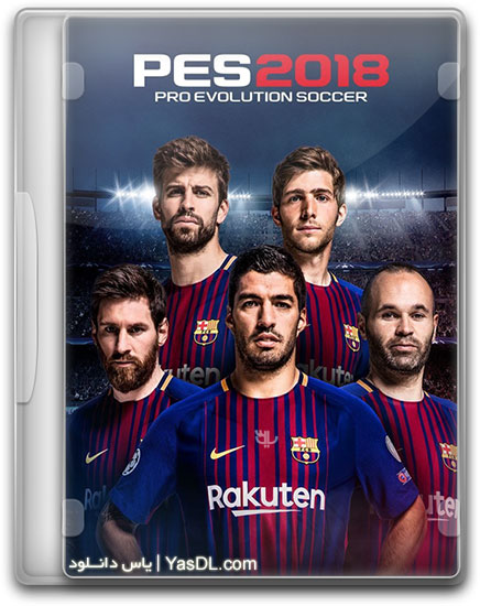 دانلود بازی PES 2018 برای PC + کرک