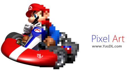 دانلود Pixel Art 11.3.3 + Portable - نرم افزار تبدیل تصاویر به پیکسل آرت