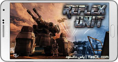 دانلود بازی Reflex Unit 1.0 - نبرد ربات ها برای اندروید + دیتا + پول بی نهایت