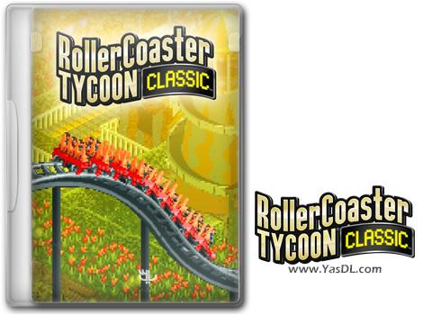 دانلود بازی RollerCoaster Tycoon Classic برای PC