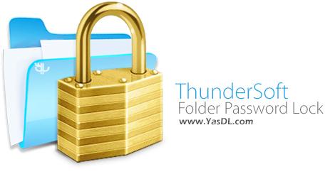 دانلود ThunderSoft Folder Password Lock Pro 10.8.0 - محافظت از فایل ها و فولدرها
