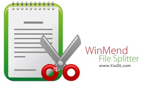 دانلود WinMend File Splitter 2.2.0 - نرم افزار تکه تکه کردن فایل ها