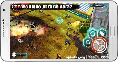 دانلود بازی Zombie Invasion Dead City HD 1.5 - تهاجم زامبی ها برای اندروید + پول بی نهایت