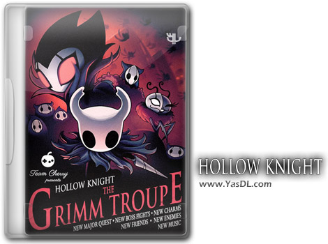 دانلود بازی Hollow Knight The Grimm Troupe برای PC