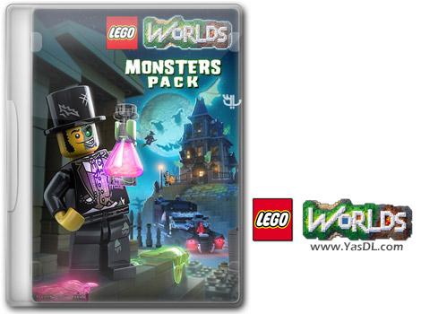 دانلود بازی LEGO Worlds Monsters برای PC