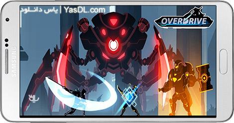دانلود بازی Overdrive Ninja Shadow Revenge 0.6 - انتقام نینجا برای اندروید + پول بی نهایت