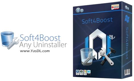 دانلود Soft4Boost Any Uninstaller 7.6.1.855 - حذف کامل برنامه ها