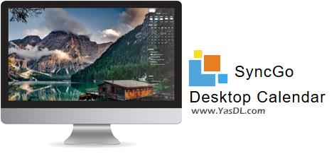 دانلود Desksware SyncGo Desktop Calendar 4.0.8.0 - تقویم حرفهای گوگل / اپل در دسکتاپ