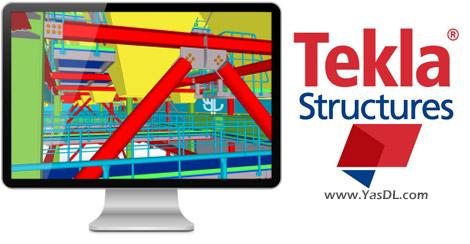 دانلود Tekla Structures 2017 SP4 - نرم افزار طراحی سازه سه بعدی