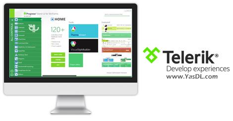 دانلود Telerik UI for WinForms R3 2017 SP1 3.1017 - کامپوننت های تلریک برای برنامه های ویندوز