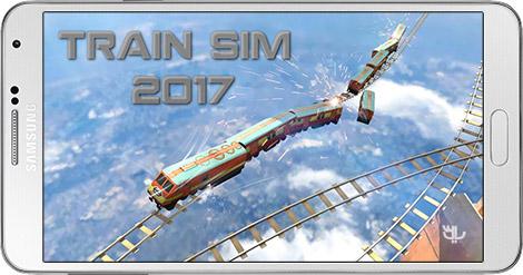 دانلود بازی Train Sim 2017 1.1 - شبیه سازی قطار 2017 برای اندروید + پول بی نهایت