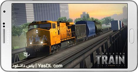 دانلود بازی Train Simulator PRO 2018 1.3.5 - شبیه سازی قطار 2018 برای اندروید + دیتا + پول بی نهایت