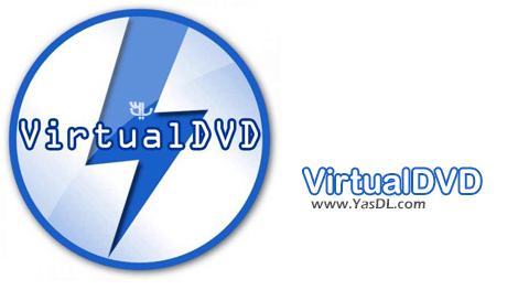 VirtualDVD 8.1 - Virtual CD/DVD Drive Software