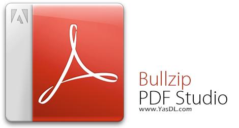 دانلود Bullzip PDF Studio 1.1.0.159 + Portable - نرم افزار مشاهده و ساخت اسناد PDF