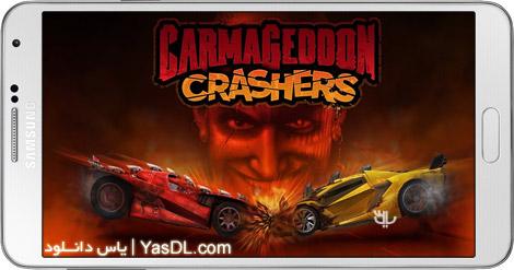دانلود بازی Carmageddon Crashers Cars Destruction Drag Racing 56301.5380 - آخرالزمان ماشین ها برای اندروید + دیتا