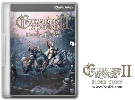 دانلود بازی Crusader Kings II Holy Fury برای PC