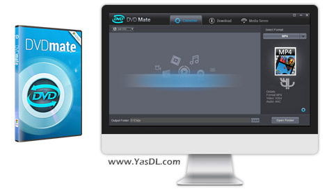 دانلود Dimo DVDmate 3.6.1 + Portable - مبدل حرفه ای دیسک های DVD