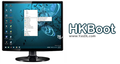 HKBoot 2017 – Disk Live Windows Tools Boot