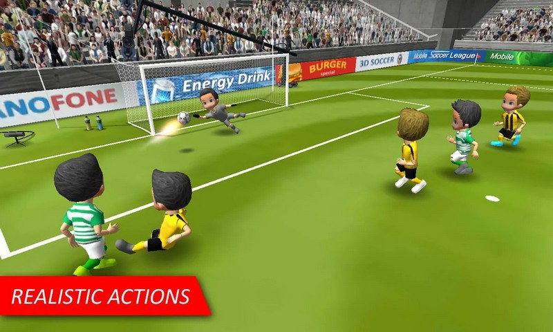 Mobile Soccer League 1.0.23 Soccer League For Android + Infinity