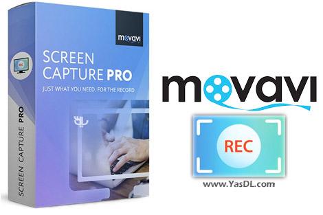 دانلود Movavi Screen Capture Pro 9.1.0 - نرم افزار تصویربرداری از صفحه نمایش
